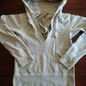 J. Crew French terry shabby hoodie